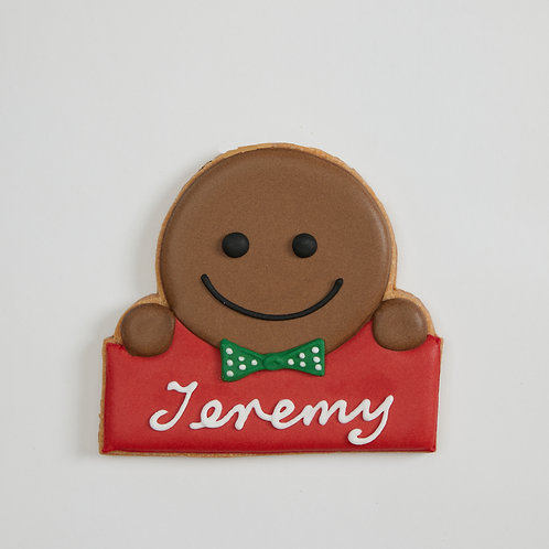 Personalized Cookie - C1 gingerbread boy