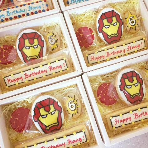 Superheroes Series - Hang's 6th birthday