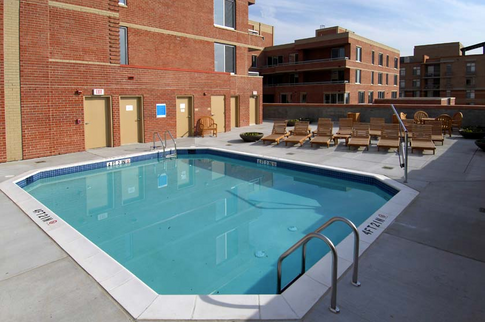 Private Rooftop Pool