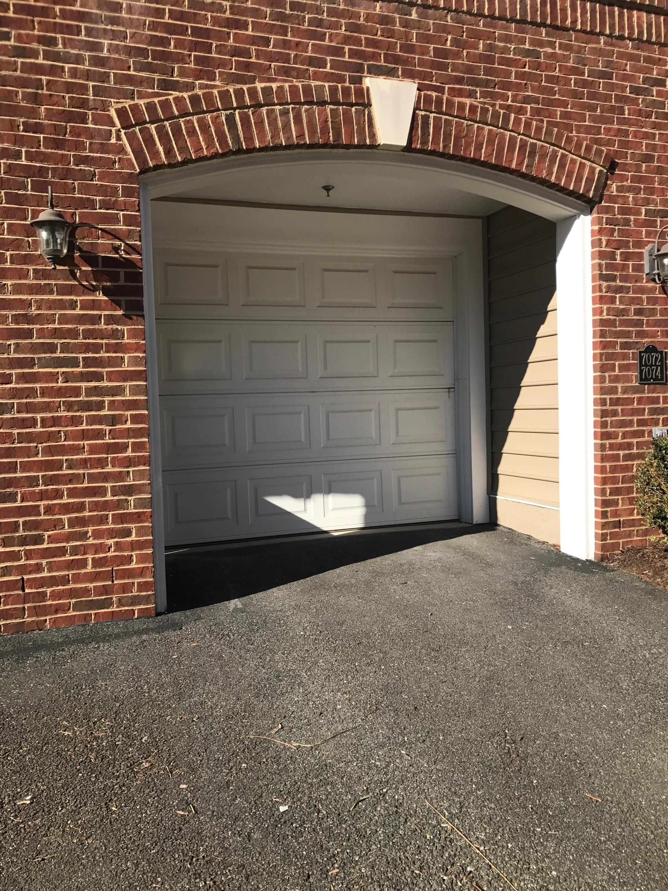 Private Garage with Room to Spare