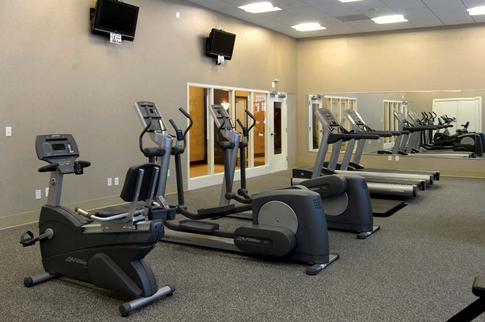 Fully-equipped Fitness Room