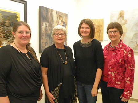 Local artists show works in Delta des Refusés