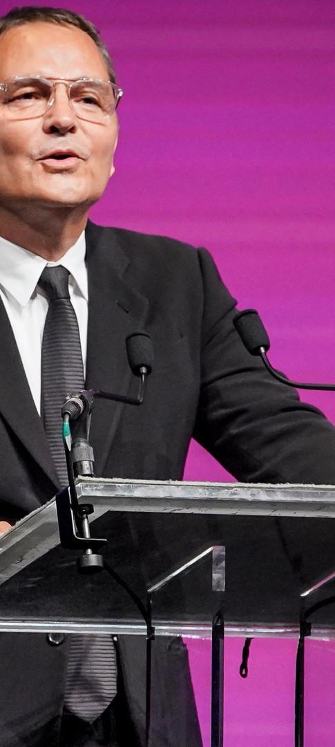 Bruno Barde, directeur du  Festival du film Américain de Deauville