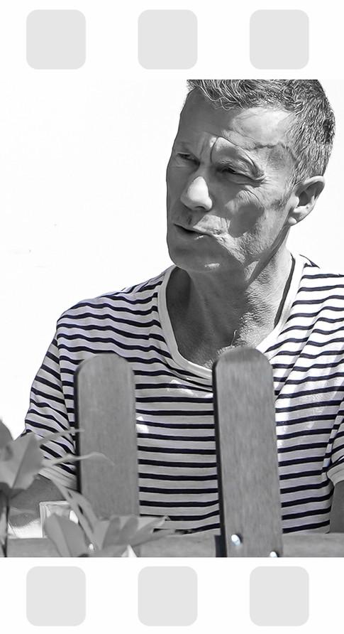 Book Présentation Alain Desforges, acteur