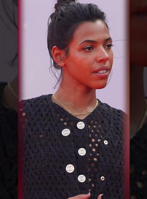 L'actrice Zita Hanrot, pour le film ROUGE, de Farid Bentoumi