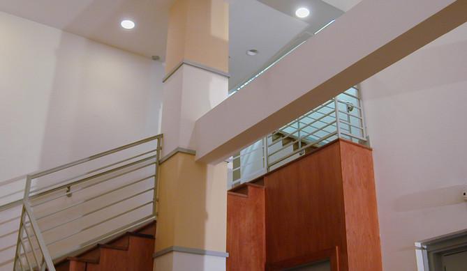 Residential Hotel Stairway