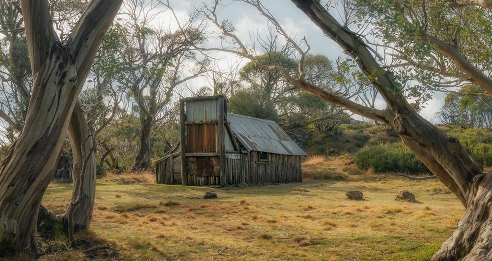 Wallaces Hut Bogong Plains