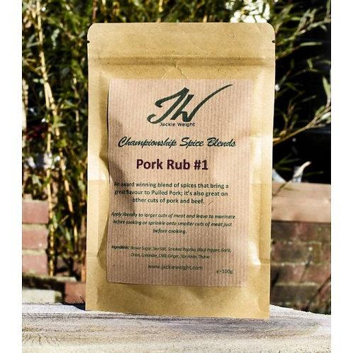 Jackie Weight Pork Rub #1 (100 g)