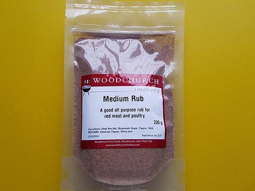 Woodchurch Smokery Medium Rub (200 g)