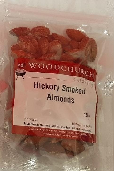 Hickory Smoked Almonds (120 g)