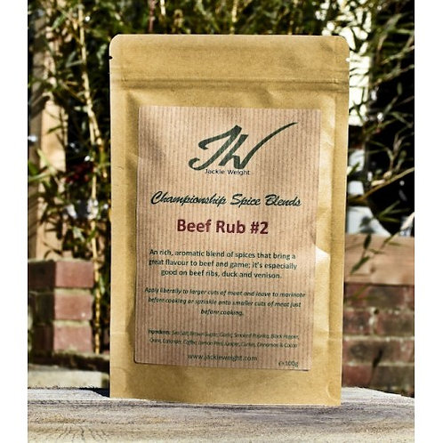 Jackie Weight Beef Rub #2 (100 g)