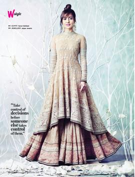 Neha SHarma_Femina Wedding Times, Decemb