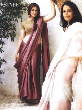Sonali Bendre_Harpers Bazaar Brides , Ma