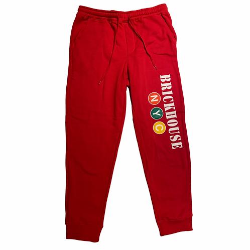 Red Brickhouse Sweatpants