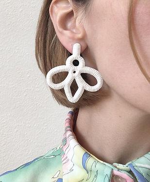 Boucles d'oreilles Corail 01