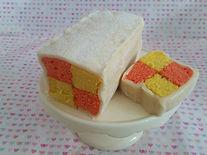 Gluten Free Battenburg Window Cake