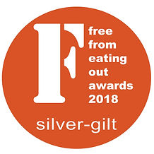 Free From Eating Out Awards Silver Winner