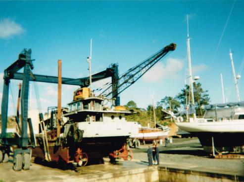 Total Marine Barge - 120 Ton