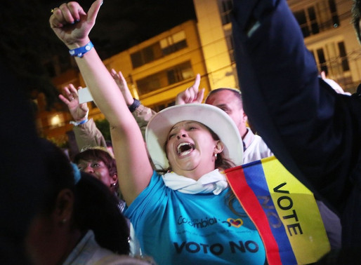 """Colombians Vote """"No"""" For Peace Deal"""