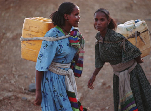 Women still carry most of the world's water