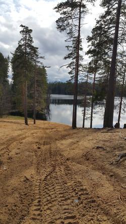 Black lake at Karelian isthmus