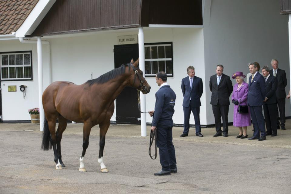 The Queen inspects Toronado.jpg