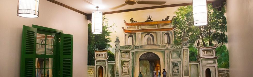 Văn Miếu Dining room