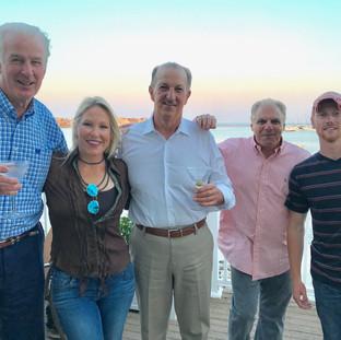 With team andJim Lonborn