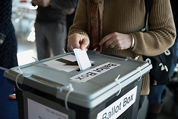 ballot box voting