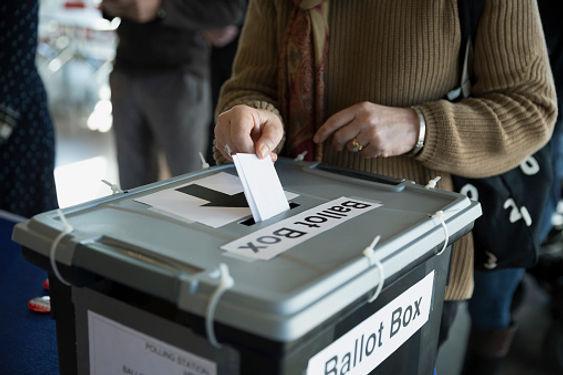 ballot box voting