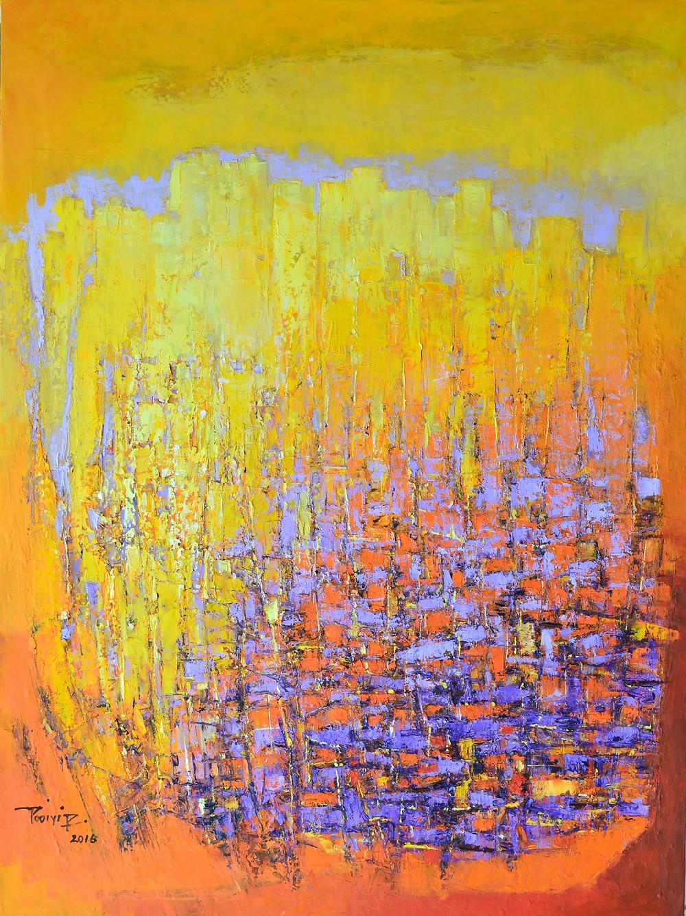 張培業 _Highland Scene - 5_Oil on Canvas_120cm x 91cm_2016
