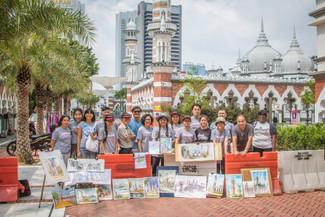 吉隆坡写生团 Sketchwalk Kuala Lumpur