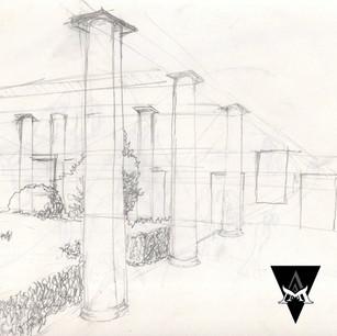 STUDY | Courtyard Colonnade