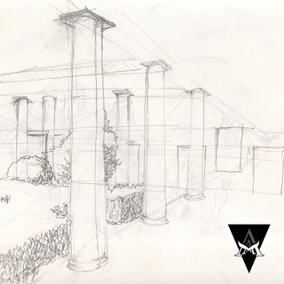 STUDY | Courtyard Colonnade