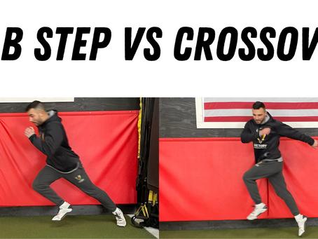 Base Stealing: Jab Step vs. Crossover