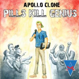 COVER ART | PILLS KILL GENIUS
