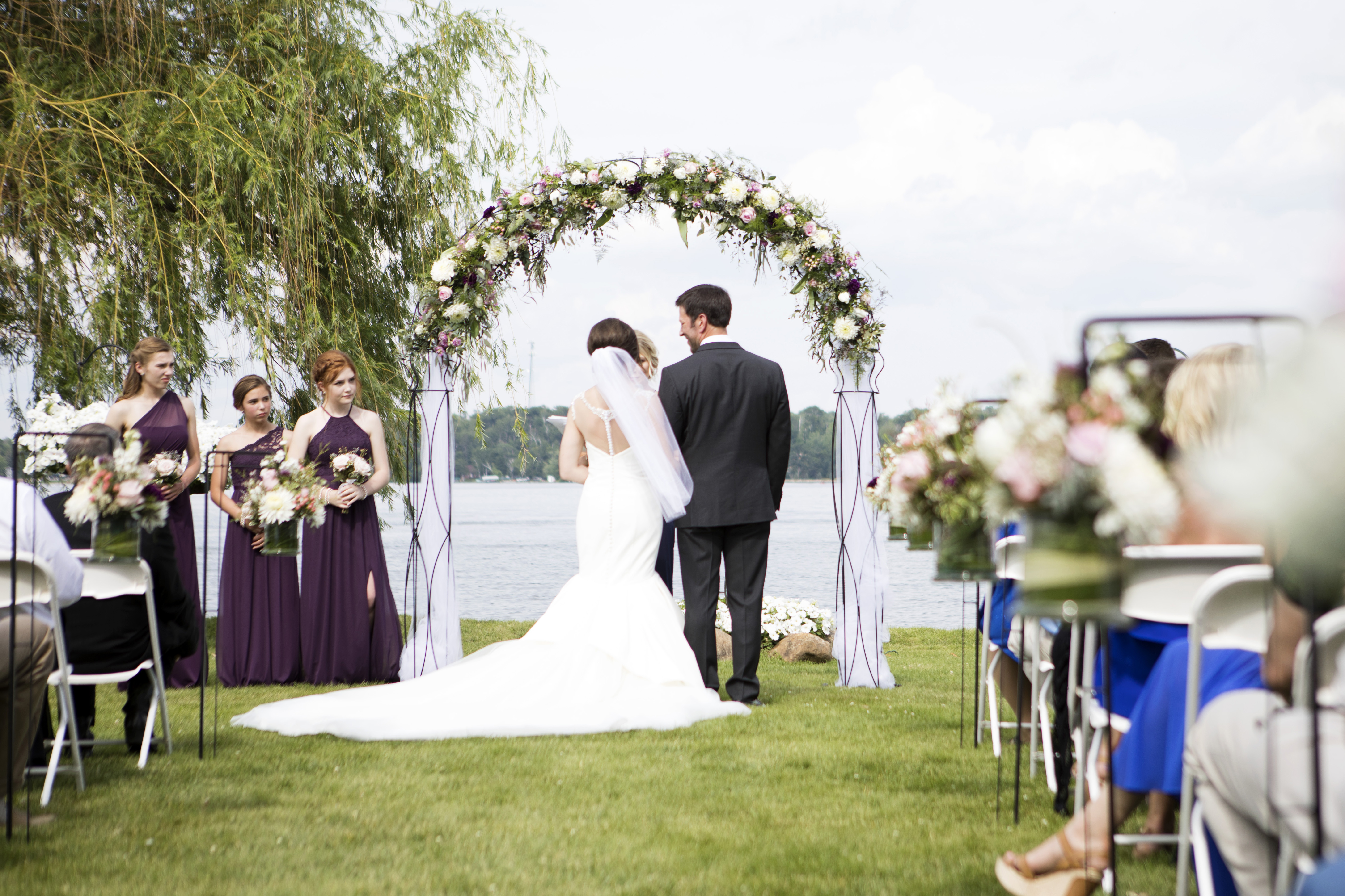 Lakeside Ceremony Arch
