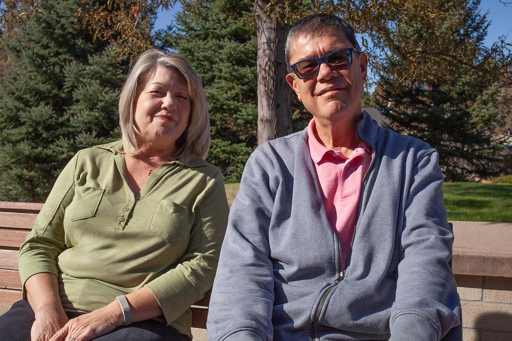 Sheri Price and Charles Serna