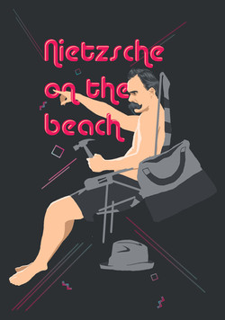 Nietzsche on the beach