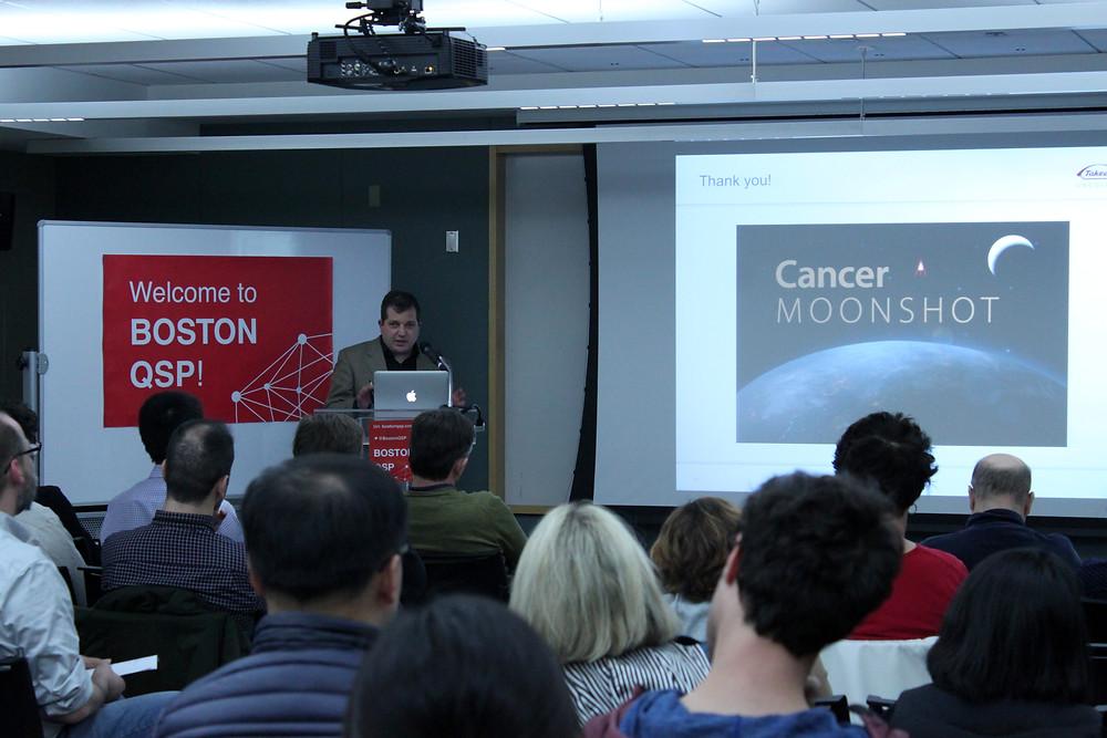 Dr. Dean Bottino presenting