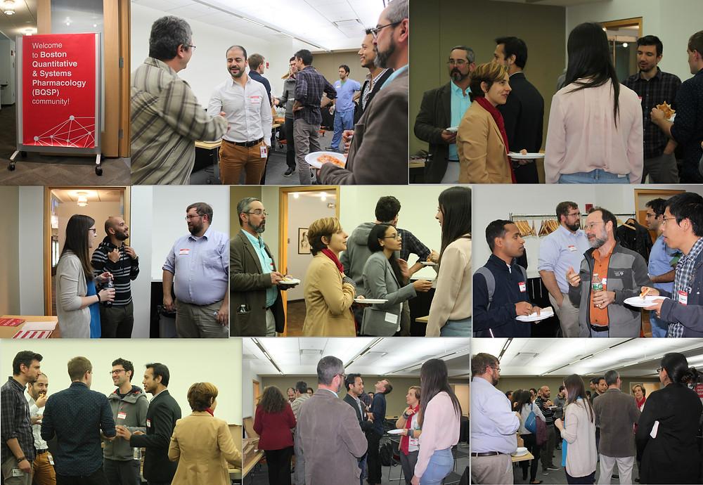 Networking at Boston QSP