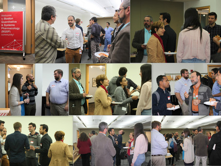 The first Boston QSP event was a resounding success