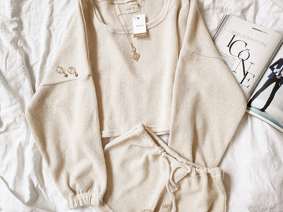 L.A Set (So Creamy) / Jogger + Short