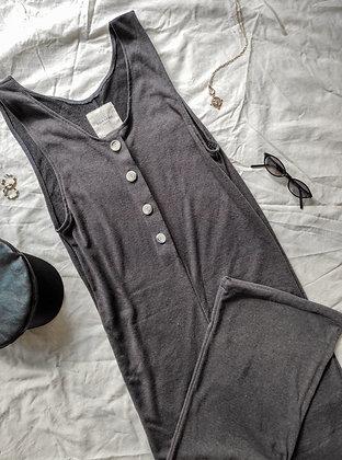 Budapest Jumpsuit / Soft Gray