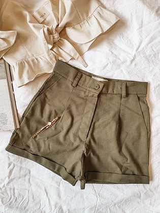 Louvre Short / Time goes fast / talla S