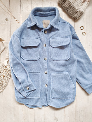 Norway Jacket / Blue sky Knit