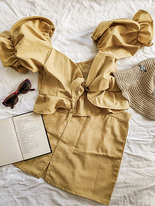 Linen mini / Sunshine