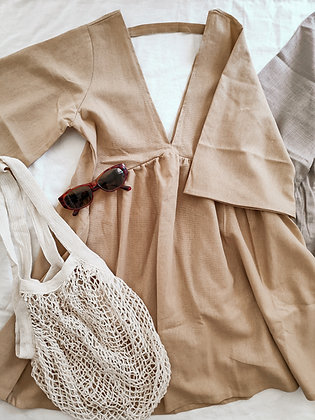 Bali Dress / Ice cream vibe