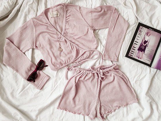 Toulouse set Short / Pinky Lemonade