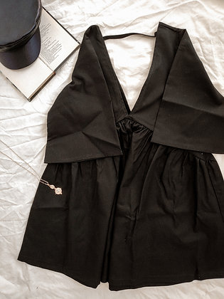 Bali Romper / Black is black